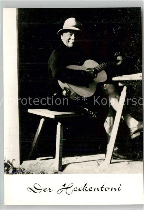 AK / Ansichtskarte Geislingen_Steige Raststaette Obere Roggenmuehle der Heckentoni Musikant Der Segen des Liedes Geislingen_Steige 0
