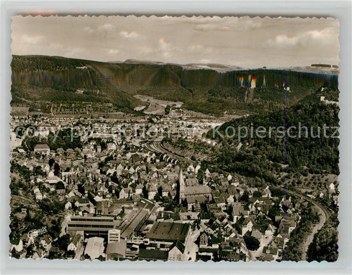 AK / Ansichtskarte Geislingen_Steige Fuenftaelerstadt Fliegeraufnahme Geislingen_Steige 0