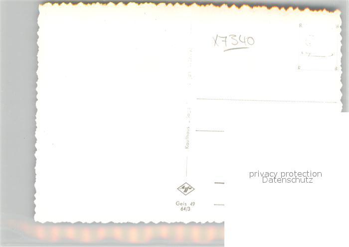 AK / Ansichtskarte Geislingen_Steige Hochhaeuser Siedlung Geislingen_Steige 1