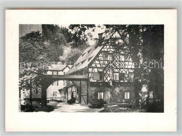 AK / Ansichtskarte Geislingen_Steige Fachwerkhaus Geislingen_Steige 0