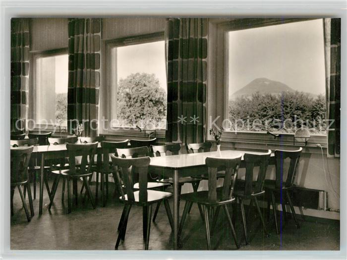 AK / Ansichtskarte Reichenbach_Donzdorf Freizeitheim Schurrenhof Speiseraum Reichenbach Donzdorf
