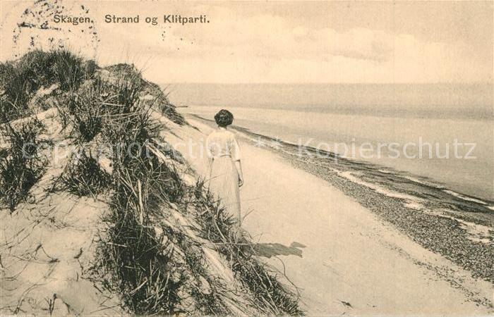 AK / Ansichtskarte Skagen Strand Klippen  Skagen