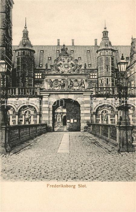 AK / Ansichtskarte Frederiksborg Slot Frederiksborg