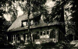 AK / Ansichtskarte Elster_Bad Waldcafe Baerenloh Elster_Bad