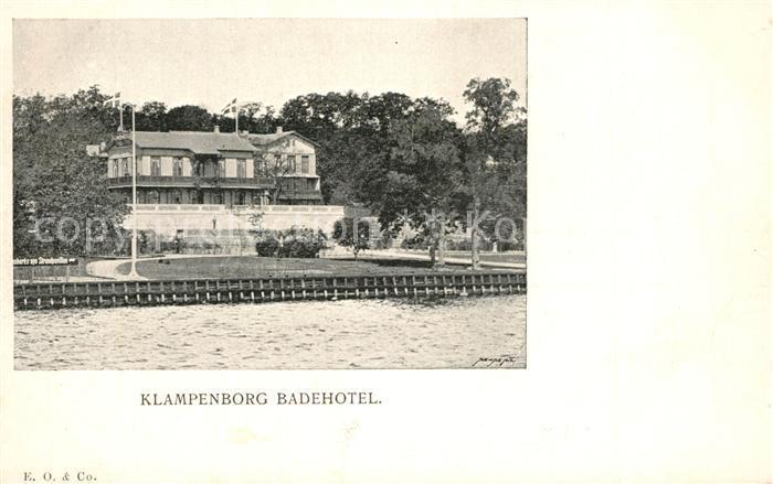 AK / Ansichtskarte Klampenborg Badehotel Klampenborg
