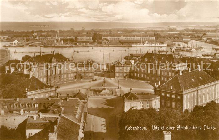 AK / Ansichtskarte Kobenhavn Panorama Kobenhavn