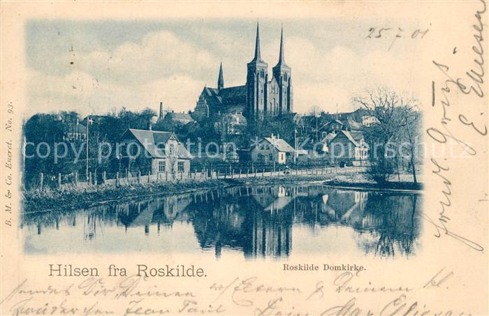 AK / Ansichtskarte Roskilde Domkire Roskilde