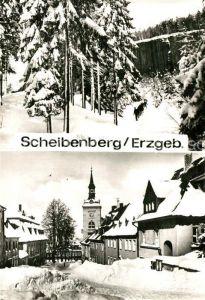 AK / Ansichtskarte Scheibenberg Kirche Scheibenberg