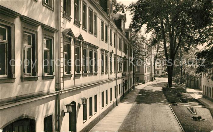 AK / Ansichtskarte Zschopau Wismut Sanatorium Warmbad Kurhaus Zschopau
