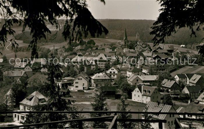 AK / Ansichtskarte Bischofsgruen Blick vom Huegelfelsen Bischofsgruen