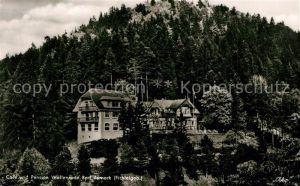 AK / Ansichtskarte Bad_Berneck Cafe Pension Wallenrode Bad_Berneck