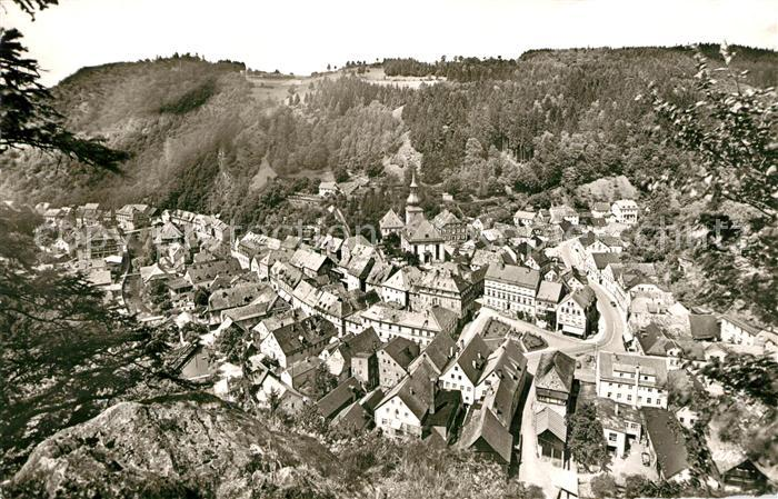 AK / Ansichtskarte Bad_Berneck Blick vom Sonnentempel Bad_Berneck