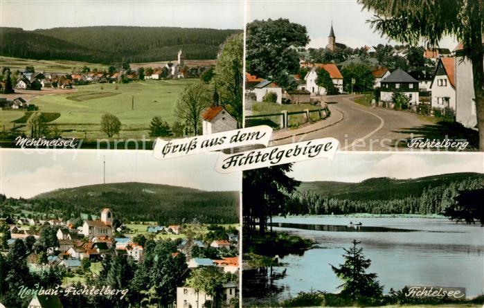 AK / Ansichtskarte Fichtelberg_Bayreuth mit Mehlmeisel Neubau Fichtelsee Fichtelberg Bayreuth