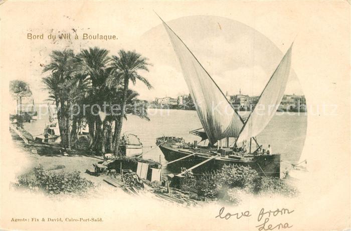 AK / Ansichtskarte Boulaque Bord du Nil