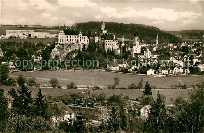 AK / Ansichtskarte Sigmaringen Schloss Liebfrauenwerk Sigmaringen 0