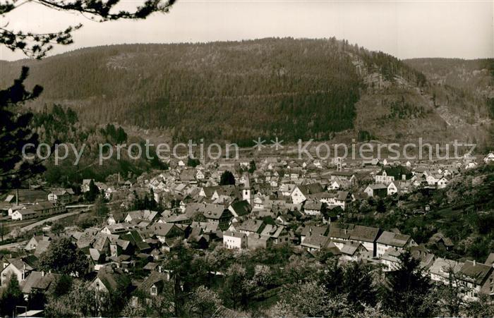 AK / Ansichtskarte Calmbach_Enz Panorama Calmbach Enz 0