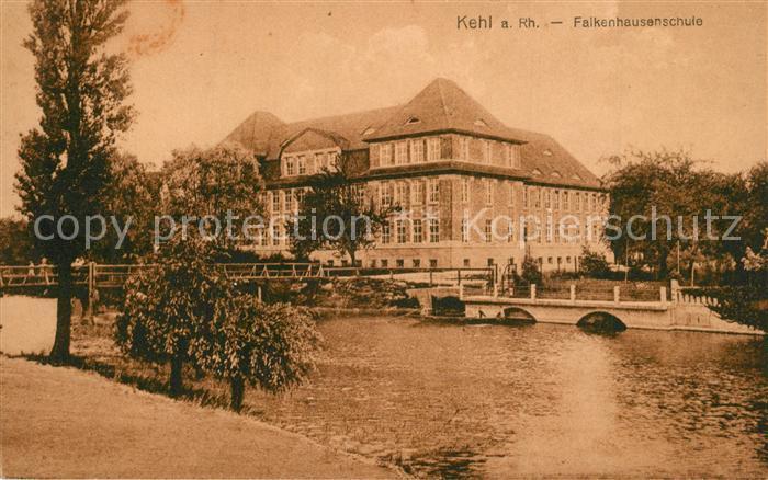 AK / Ansichtskarte Kehl_Rhein Falkenhausenschule Kehl_Rhein 0