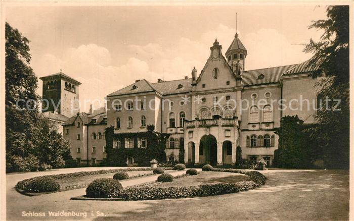 AK / Ansichtskarte Waldenburg_Sachsen Schloss Waldenburg Sachsen 0