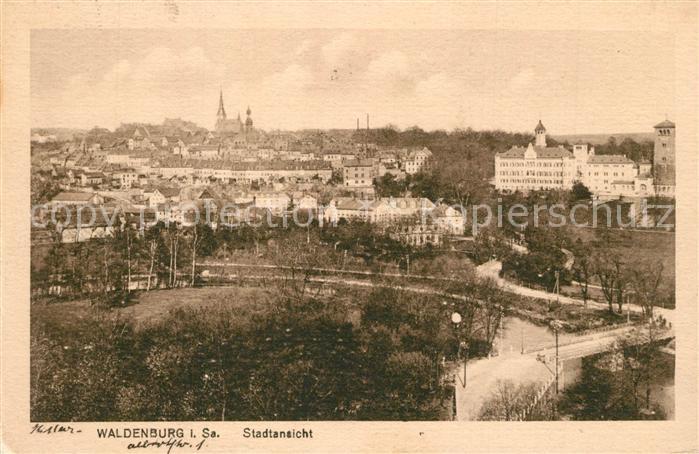 AK / Ansichtskarte Waldenburg_Sachsen Panorama Stadt Waldenburg Sachsen 0