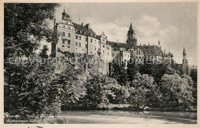 AK / Ansichtskarte Sigmaringen Schloss Sigmaringen 0