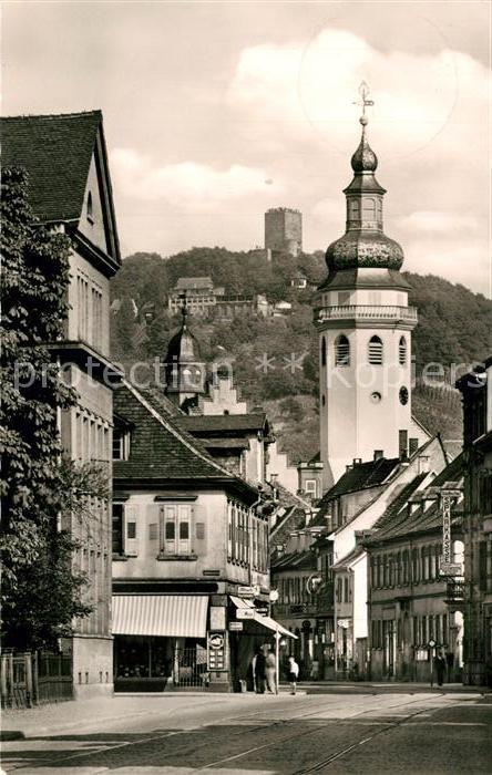 AK / Ansichtskarte Durlach Pfinztalstrasse Turmberg Durlach