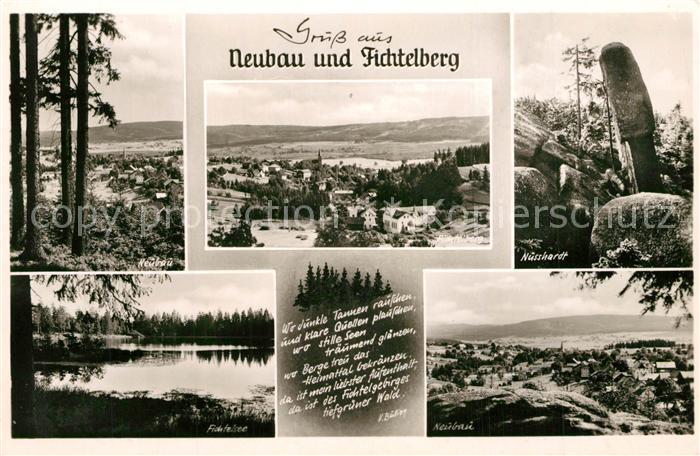 AK / Ansichtskarte Neubau_Fichtelberg Panorama Nusshardt Fichtelsee  Neubau Fichtelberg 0