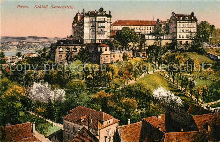 AK / Ansichtskarte Pirna Schloss Sonnenstein Pirna 0