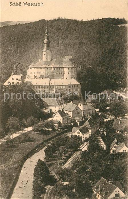 AK / Ansichtskarte Weesenstein Schloss Weesenstein Weesenstein 0