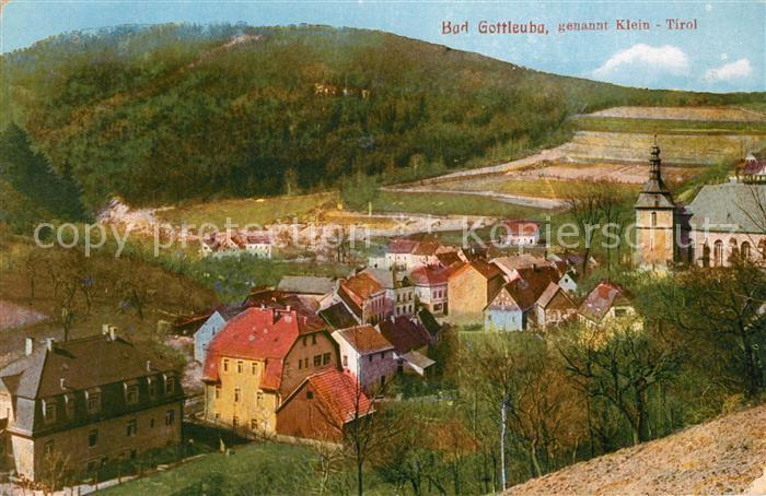 AK / Ansichtskarte Bad_Gottleuba Berggiesshuebel Klein Tirol Bad 0