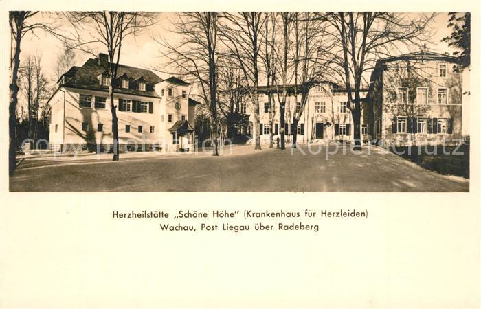AK / Ansichtskarte Liegau Augustusbad Herzheilstaette Schoene Hoehe Liegau Augustusbad 0