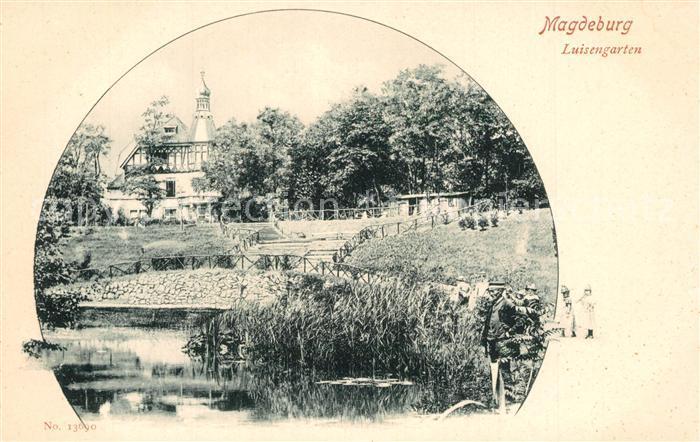 AK / Ansichtskarte Magdeburg Luisengarten Magdeburg 0