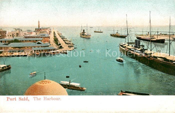 AK / Ansichtskarte Port_Said Harbour Port_Said 0