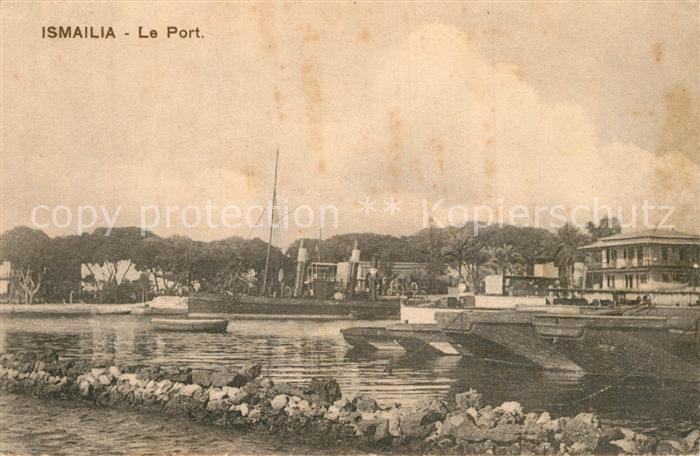 AK / Ansichtskarte Ismailia Le Port Ismailia 0