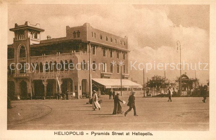 AK / Ansichtskarte Heliopolis Pyramids Street Serie 605 Heliopolis 0