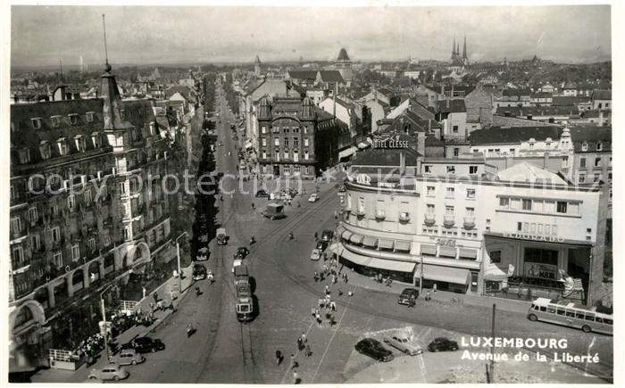 AK / Ansichtskarte Luxembourg_Luxemburg Avenue de la Liberte Luxembourg Luxemburg 0