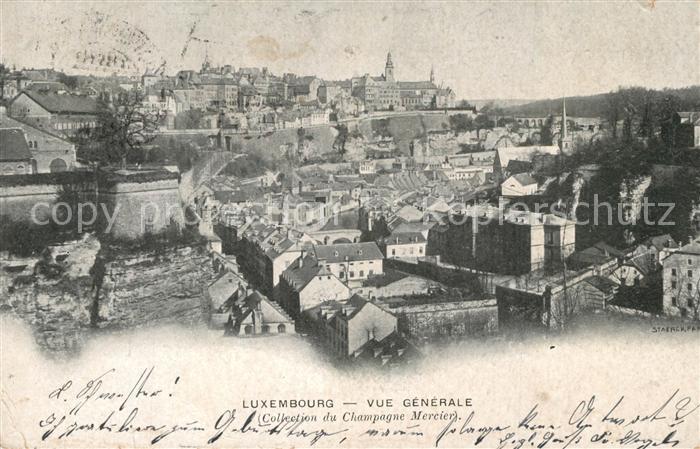 AK / Ansichtskarte Luxembourg_Luxemburg Vue generale Chateau de Pekin Luxembourg Luxemburg 0