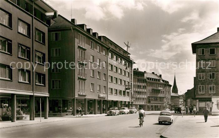 AK / Ansichtskarte Giessen_Lahn Kirchplatz Universitaetsstadt Giessen_Lahn 0