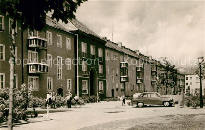AK / Ansichtskarte Stalinstadt Wohnblock Heinrich Heine Allee Stalinstadt