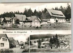 AK / Ansichtskarte Muehlleithen_Klingenthal Ferienheim VEB Spezialhochbau Berlin HO Hotel Rat der Gemeinde Muehlleithen_Klingenthal