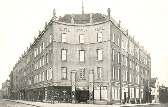 AK / Ansichtskarte Aarhus Hotel Regina Hotel Aarhus