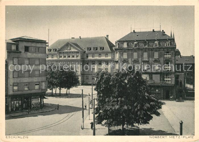 AK / Ansichtskarte Esch Sur Alzette Norbert Metz Platz Esch Sur Alzette