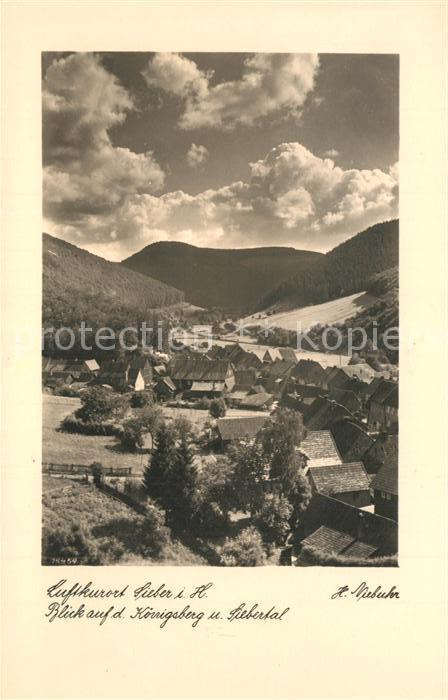 AK / Ansichtskarte Sieber Panorama Koenigsberg Siebertal Sieber