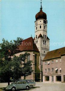 AK / Ansichtskarte Aichach Stadtpfarrkirche Aichach