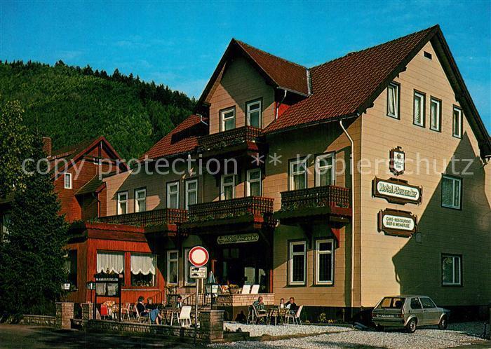 AK / Ansichtskarte Bad_Lauterberg Hotel Alexander Bad_Lauterberg 0