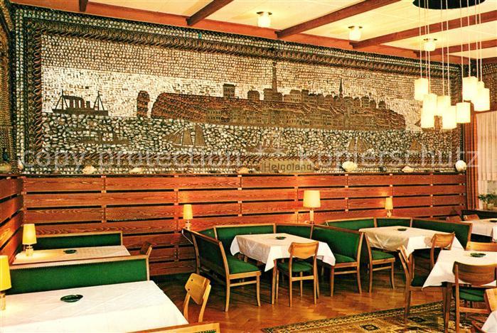 AK / Ansichtskarte Buesum_Nordseebad Hotel Schloss am Meer Muschelsaal Buesum_Nordseebad 0