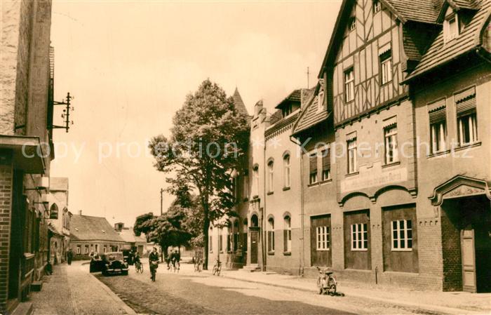 AK / Ansichtskarte Doberlug Kirchhain Poststrasse Kirchhain Doberlug Kirchhain