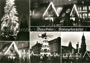AK / Ansichtskarte Dresden Striezelmarkt Details Dresden