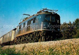 AK / Ansichtskarte Eisenbahn Elektro Schnellzuglokomotive 119 001 6 Eisenbahn