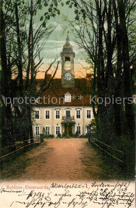 AK / Ansichtskarte Elsterwerda Schloss Elsterwerda