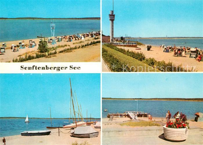 AK / Ansichtskarte Grosskoschen Senftenberger See Strand  Grosskoschen